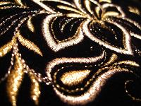 Отдается в дар Косметичка с золотым шитьём
