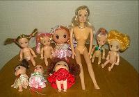 Отдается в дар Кукольный детский сад