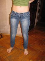 Отдается в дар джинсы для худеньких девушек, 40