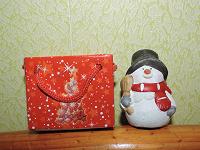 Отдается в дар Снеговик маленький