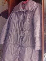 Отдается в дар Куртка-пальто на синтепоне