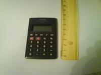 Отдается в дар Калькулятор Casio