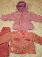 Отдается в дар Одежда для девочки до 80 см