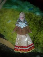 Отдается в дар Фарфоровая куколка с дефектом