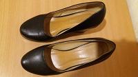 Отдается в дар Черные стильные туфли