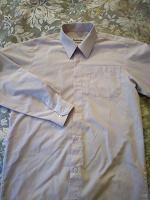 Отдается в дар рубашка школьная, р.152