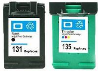 Отдается в дар Струйные картриджи HP 131 (C8765H) и HP 135 (C8766H)