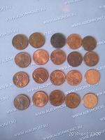 Отдается в дар Монеты США 1 цент
