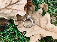 Отдается в дар Новое серебряное кольцо