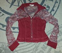 Отдается в дар Блуза с имитацией корсета