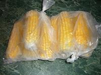 Отдается в дар замороженные кукурузные початки