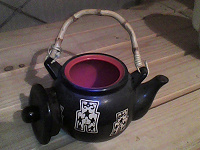 Отдается в дар Керамический чайник