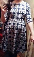 Отдается в дар Платье трикотаж 48 размер