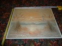 Отдается в дар Картина под стеклом 50*40 см
