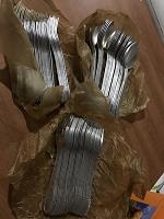 Отдается в дар Алюминиевые ложки и вилки