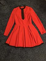 Отдается в дар Платье красное 40-42 размера