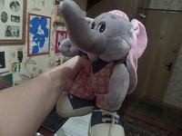 Отдается в дар слоник в кедах