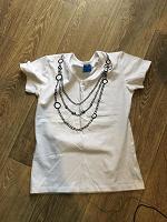 Отдается в дар футболка белая