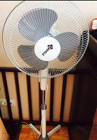 Отдается в дар Напольный вентилятор, 2 штуки!