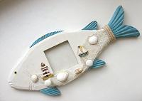 Отдается в дар Вешалка-фоторамка-Рыба
