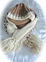 Отдается в дар Шапочка и шарф