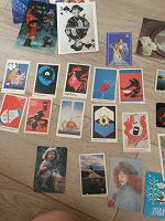 Отдается в дар Календари, открытки 80-,90-е