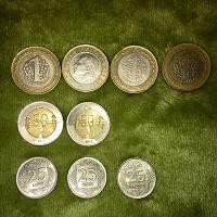 Отдается в дар Монеты турецкие лиры