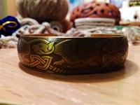 Отдается в дар Латунный браслет.