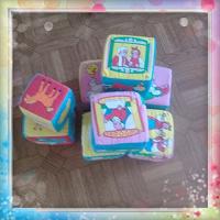 Отдается в дар Мякиши, мягкие кубики