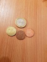 Отдается в дар Евро и евроценты
