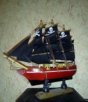 Отдается в дар Пиратский парусник