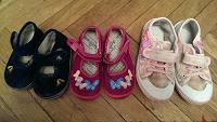 Отдается в дар Обувь на девочку 23, 25, 28 размеры