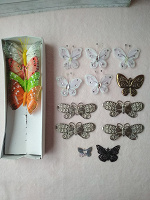 Отдается в дар Бабочки для декора и рукоделия