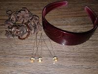 Отдается в дар Для волос: ободок, шпильки, резинка
