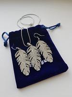 Отдается в дар Комплект украшений «перья»