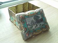 Отдается в дар Жестяная коробка от чая