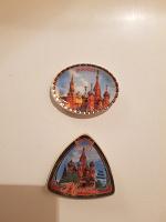 Отдается в дар Магниты с изображением Москвы