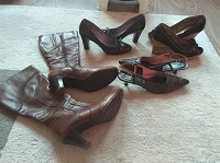 Отдается в дар Обувь (сапоги, туфли, босоножки)