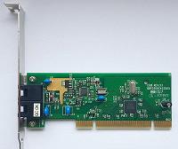 Отдается в дар PCI Факс-модем Genius (dial-up)