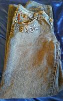 Отдается в дар Женские джинсы 46-48 размер