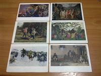 Отдается в дар открытки СССР «живопись» (2) 6 ш