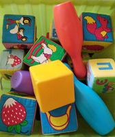 Отдается в дар Кубики детские