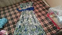 Отдается в дар Длинное платье 48-50
