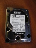Отдается в дар Жёсткий диск WD 2.0 TB