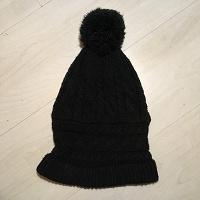 Отдается в дар Женская шапка зимняя вязаная