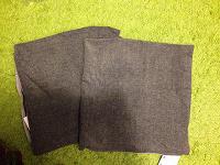Отдается в дар Чехлы на подушки 50х50см из Икеа, серые