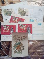 Отдается в дар открытки, конверты