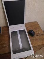 Отдается в дар Нерабочий сканер Benq + блок питания 16V 900mA