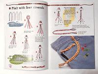 Отдается в дар Журнал со схемами плетения фенечек