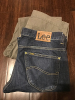 Отдается в дар Мужские джинсы брюки на высокий рост